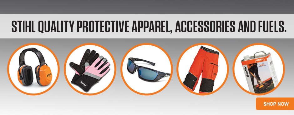 STIHL Quality Apparel, Accessories and Fuels